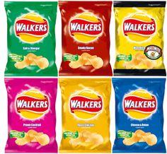Walkers Crisps uses Alcohol