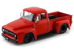 Pick Up Ford F-100 1956 Vermelha 1/24 Jada toys - Pesquisa Google