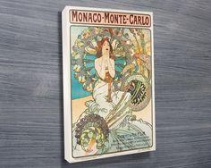 Unique Wedding Gifts Under USD75 : Alphonse Mucha Monaco. Gift ideas, wedding present ideas, unique gift ...