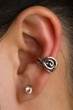 Twisted Ear Cuff Jewelry