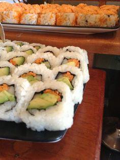 #Rollos de #Sushi #Nau #Lounge