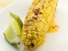 Grilled Corn with Chipotle-Lime Butter