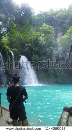 Find Blue River Waterfall Hidden Gem Forest stock images in HD and millions of other royalty-free stock photos, illustrations and vectors in the Shutterstock collection. Thousands of new, high-quality pictures added every day. Kawasan Falls, Landscape Background, Rafting, New Pictures, Tourism, Waterfall, Beautiful Places, Scenery, Places To Visit
