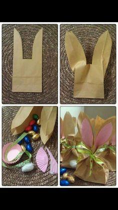 Easter Spring Bunny treat bag