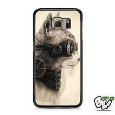 Steampunk Cat Samsung Galaxy S6 Case