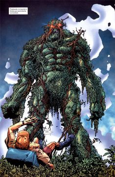 Swamp Thing by Rich Corben