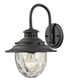 Weathered Charcoal Searsport Outdoor Sconce