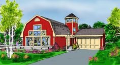 Country   Farmhouse  House Plan 90685