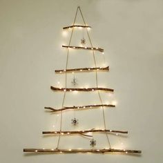 Alberi di Natale alternativi - Rami luminosi