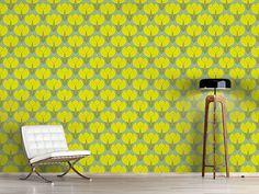 Design #Tapete Blühende Kornelkirschen