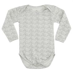 Konges Sløjd body sea shell, off white. Køb hos Naturebaby