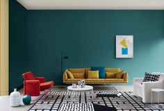 Texture & connectivity: Discover the Dulux 2017 colour trends - The Interiors Addict