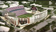 Davis Wade Stadium Expansion - 2014