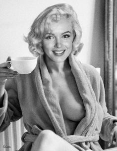"Saatchi Art Artist Jeffrey Yarber; Photography, ""Marilyn Monroe - More Coffee, Please"" #art"