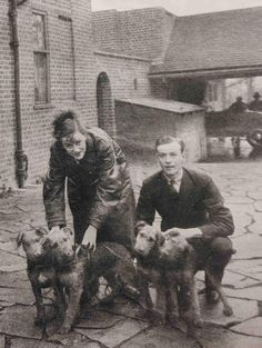 Dame Gracie Fields, was an English actress, singer and comedienne and star of both cinema and music hall. She had five airedales and other pets.