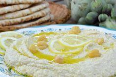 The View from Great Island | Lemony Artichoke Hummus