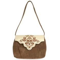 Large shoulder bag inspired by Islamic art. Made from natural leather…