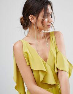 ALDO Riralla Chain Earrings - Gold