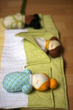 Sleepover Pals- Spring by sixorangesocks, via Flickr