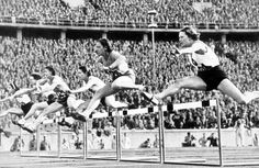 The Women's 80 Meter Hurdles at the 1936 Olympic Games, in Berlin