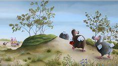 Suzan Visser (1967) schildert zeer succesvol een magische tijdloze wereld waarin mens en dier elkaar gevonden hebben. Ze weet een fabelachtige techniek feilloos te combineren met humor en zeggingskracht. Soms ingetogen en serieus, dan weer vrolijk en hilarisch, maar altijd herkenbaar als een echte Suzan Visser. Animal Crossing, Painting, Animals, Art, Illustrations, Art Background, Animales, Animaux, Painting Art