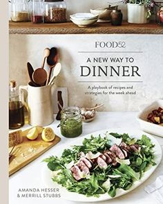 Descargar o leer en línea A New Way to Dinner Libro Gratis PDF/ePub - Amanda Hesser & Merrill Stubbs, A smart, inspiring cookbook showing how to plan, shop, and cook for dinners (and lunches and desserts) all through the. Healthy Cook Books, Healthy Cooking, Amanda Hesser, Cooked Cabbage, Eat Pizza, Food 52, Eating Habits, Real Food Recipes, Easy Recipes