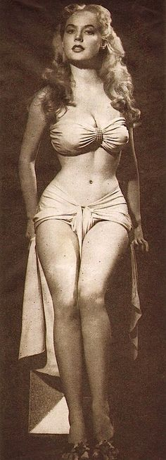 Betty Brosmer - If only every woman was built like this =(