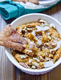 This Sweet Potato Pie Dessert Hummus will rock your socks. It tastes just like mama's sweet potato pie but with all the healthy ingredients. Eat this hummus anytime— breakfast, lunch, dinner, dessert. Serve with apples and cinnamon pita chips at your fall party! I'm sorry, like really really sorry. I feel like I need to …