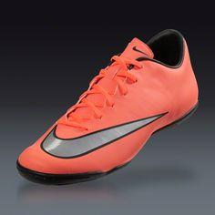 3d06b9107 Buy Nike Mercurial Victory V IC - Bright Mango/Metallic Silver-Hyper Turq-