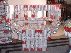 Beer Can Chair