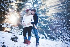 1000 images about photos grossesse hiver on pinterest for Photo grossesse exterieur hiver