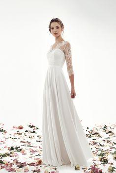 Свадебное платье Стефани Fancy Dress, I Dress, Dress Outfits, White Wedding Dresses, Bridesmaid Dresses, Formal Dresses, Boho Wedding, Dream Wedding, Wedding Ideas