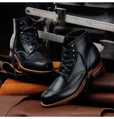Wolverine / Men's Addison 1000 Mile Wingtip Boot.
