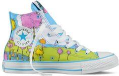 Converse x Dr Seuss The Lorax Chucks