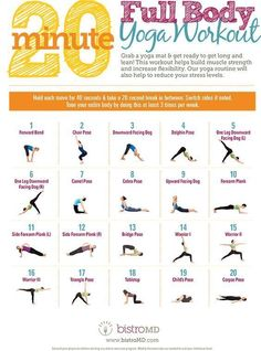 yoga full body worko