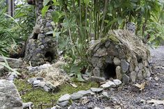 Fairy House 2009...watch for Wee Faerie Village 2012 at the Florence Griswold Museum!