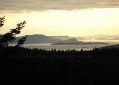 San Juan Islands taken near Bellingham, Washington. Spent many weekends through the years on Orcus Island.