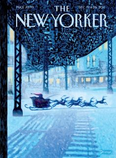 The New Yorker Christmas cover