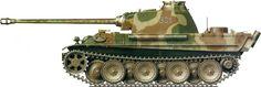 Panzerkampfwagen V Panther Camouflage.