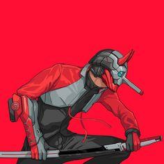 Character Concept, Character Art, Concept Art, Cyberpunk Kunst, Samurai Art, Ex Machina, Fantasy Characters, Vector Art, Character Inspiration