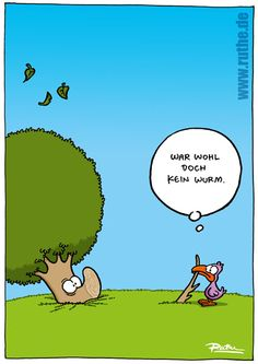 I don't know what this says but it's humorous |  Ralph Ruthe: Comics, Cartoons und Clips