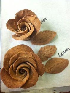 dead dough roses
