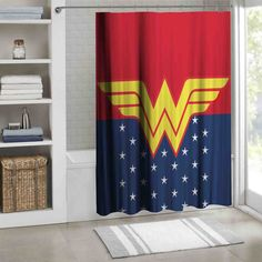 Wonder Women Logo Comic Marvel Super Hero Design Print On Shower Curtain 60 x 72 #Unbranded #Modern #Home_Decor #Home #Decor #Shower_Curtain #Shower #Curtain #Bathroom #Bath #Room #Bath_Room #eBay #Amazon #New #Top #Hot #Best #Bestselling #Best_Selling #Home&Living #Print #On #Print_on #Fashion #Trending #Woman #Man #Teenager #Cheap #Rare #Limited #Edition #Limited_Edition #Unbranded #Generic #Custom #Design #Beautiful #Cool #Accessories #Master #Piece #Luxury #Elegant #Gift #Birthday…