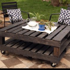 Outdoor Palete Table