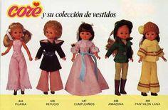 Mis Muñecas: CORE de BB - CATÁLOGO - AÑOS 70