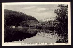 Bridge, Clarion River, Clarion PA