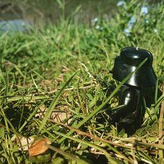 Ein wenig pause in Gras
