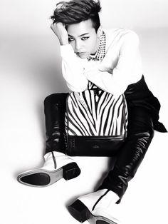 G-Dragon - J. Estina / ELLE KOREA