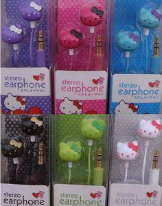 hello kitty everything store | Hello kitty earphones