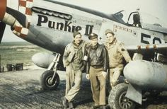 A pilot and ground crewman of the 339th Fighter Group with a P-51 Mustang (5Q-O, serial number 44-15499) nicknamed